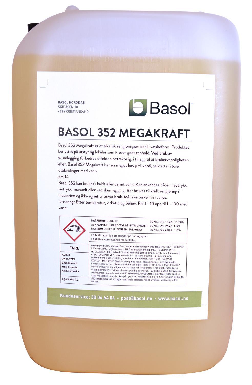 Basol 352 Megakraft (25ltr)