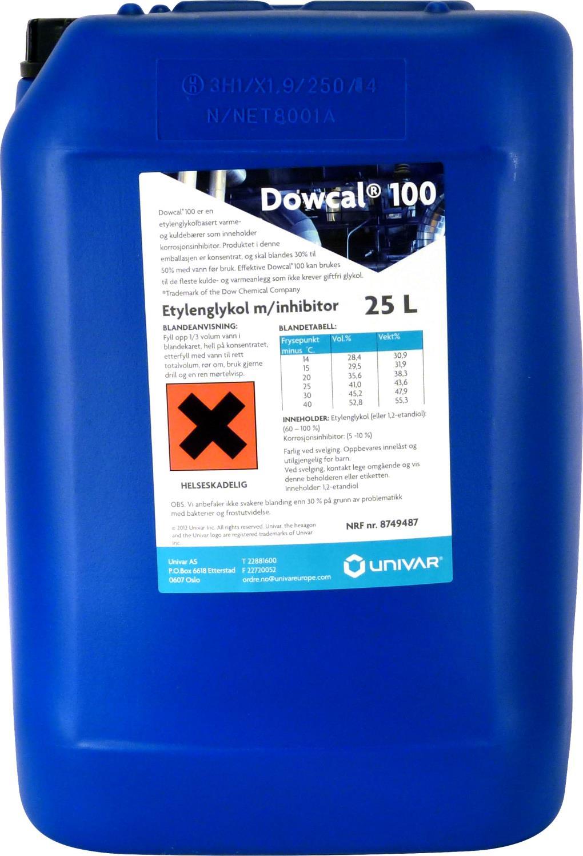 Dowcal 100E kons. MEG (28kg)