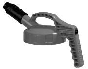Oil Safe Lock med tykk tut (Grå)