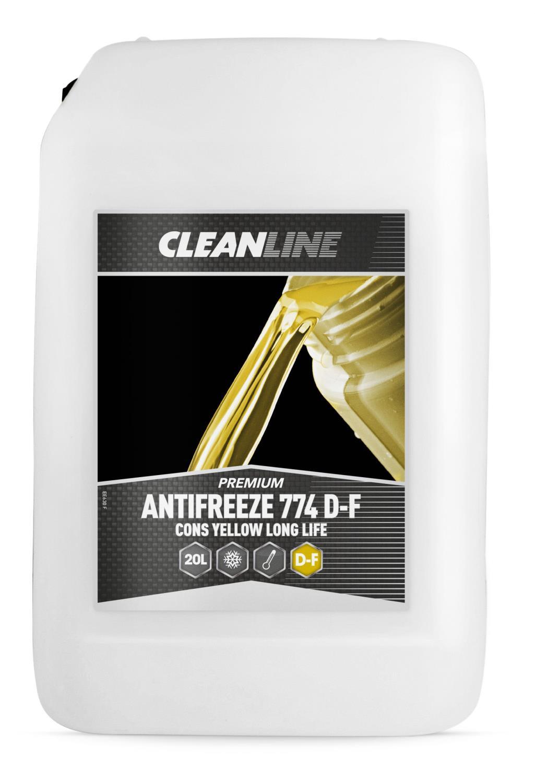 Cleanline Premium Antifreeze Cons 774 D-F Long Life yellow (20 ltr)