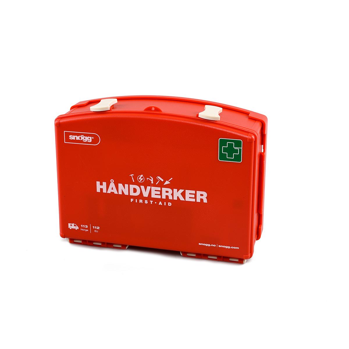 Snøgg Flexi Håndverkerkoffert - førstehjelpskoffert