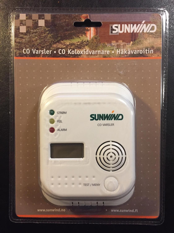 Alarm for CO gass (batteri)