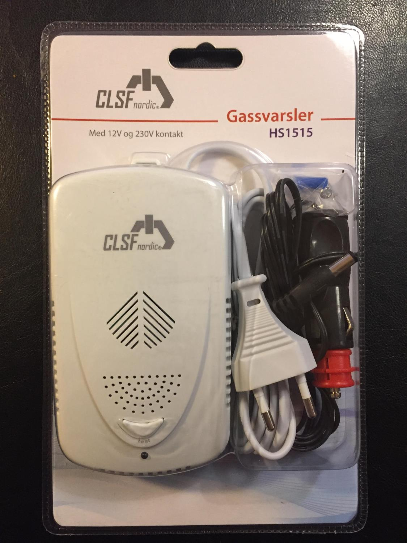 Gassvarsler CLSF Gass 12/230 Volt (HS1515)