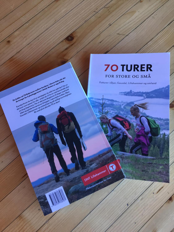 DNT Lillehammer Turbok 70 Turer