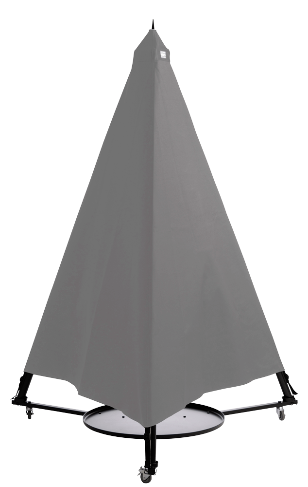Espegard Bålpannetrekk Cordura Grå