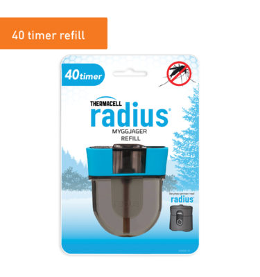 Thermacell Refill til Myggjager Radius u/gass 40t
