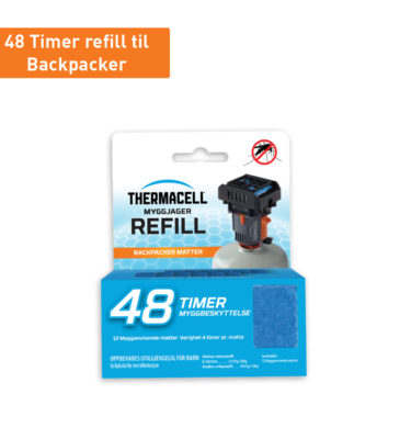 Thermacell Refill til Myggjager Backpacker 48t