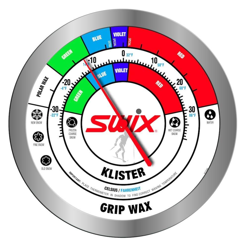 SWIX Veggtermometer Rund