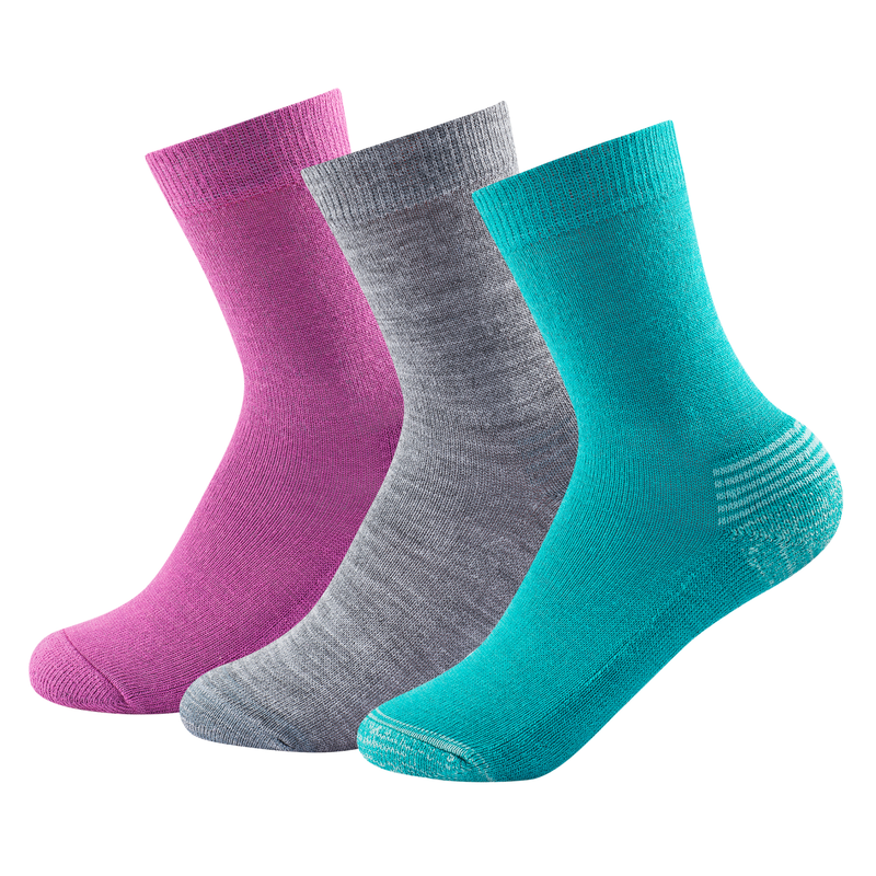 DEVOLD Daily Medium MIX Kid Sock 3PK(1097)