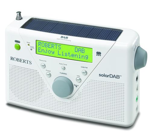 DAB Radio Solar ROBERTS