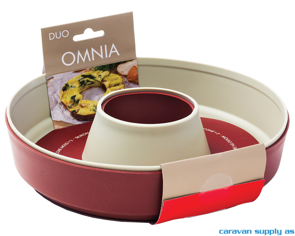 Omnia Silikonform Duo-pack 2 farger