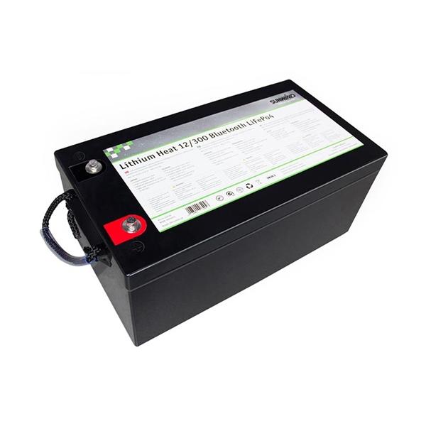 Sunwind 12V Lithium Heat Solcellebatteri 300At