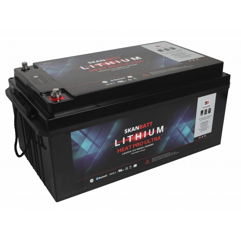 Skanbatt Lithium Heat Pro Ultra 12V/300Ah
