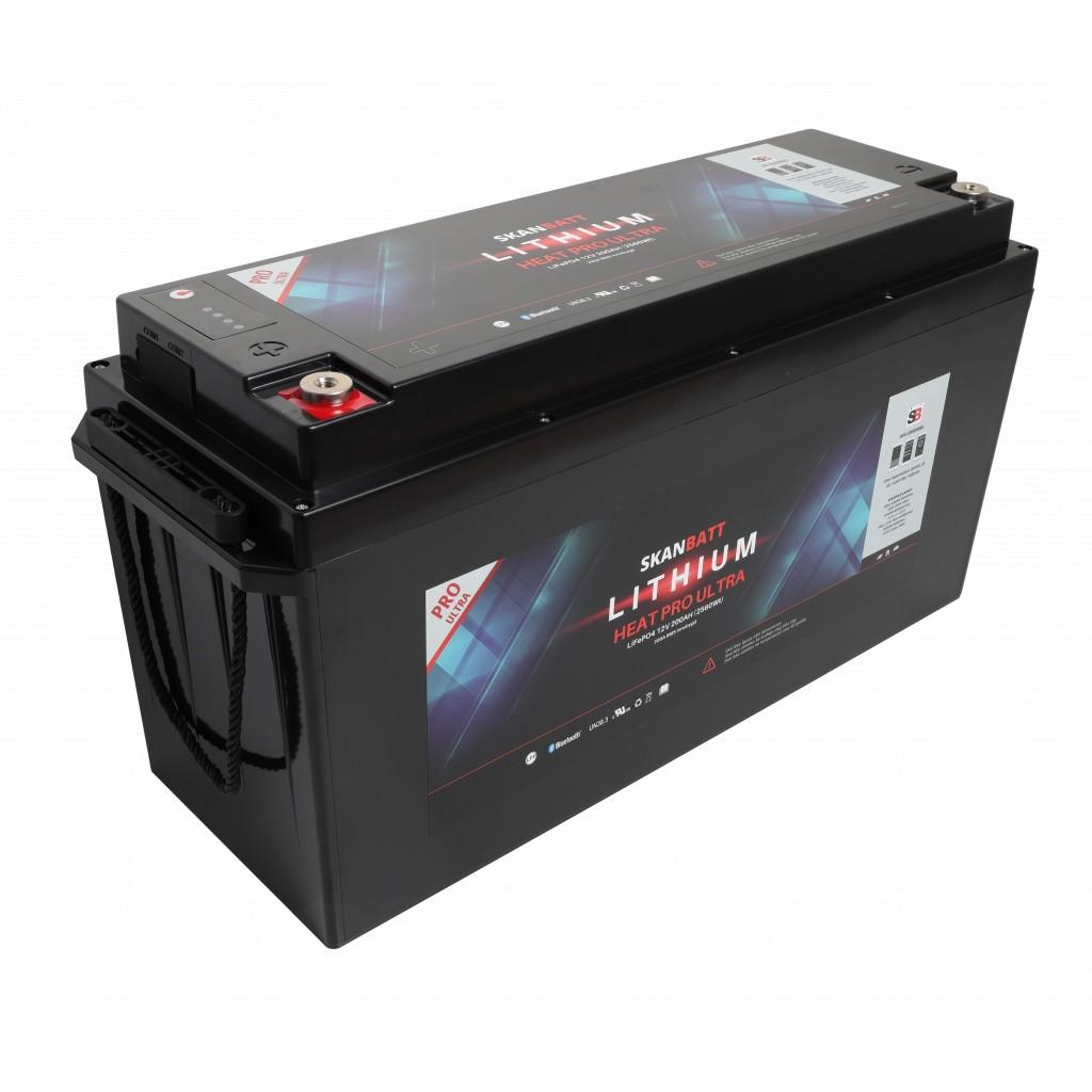 Skanbatt Lithium Heat Pro Ultra 12V/200Ah