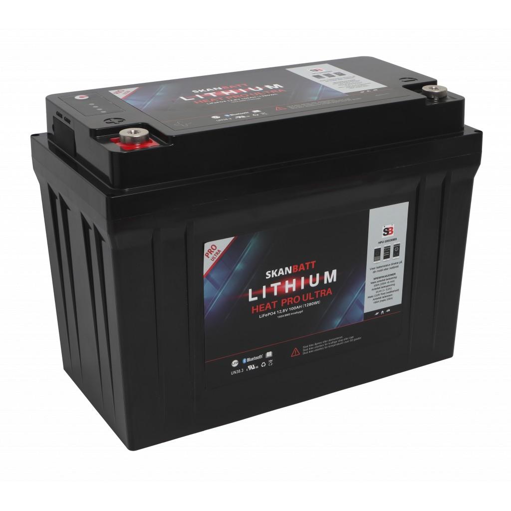 Skanbatt Lithium Heat Pro Ultra 12V/100Ah