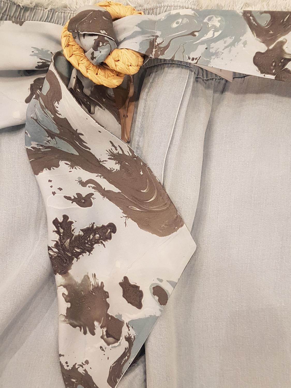 Gustav Fanus fabric belt