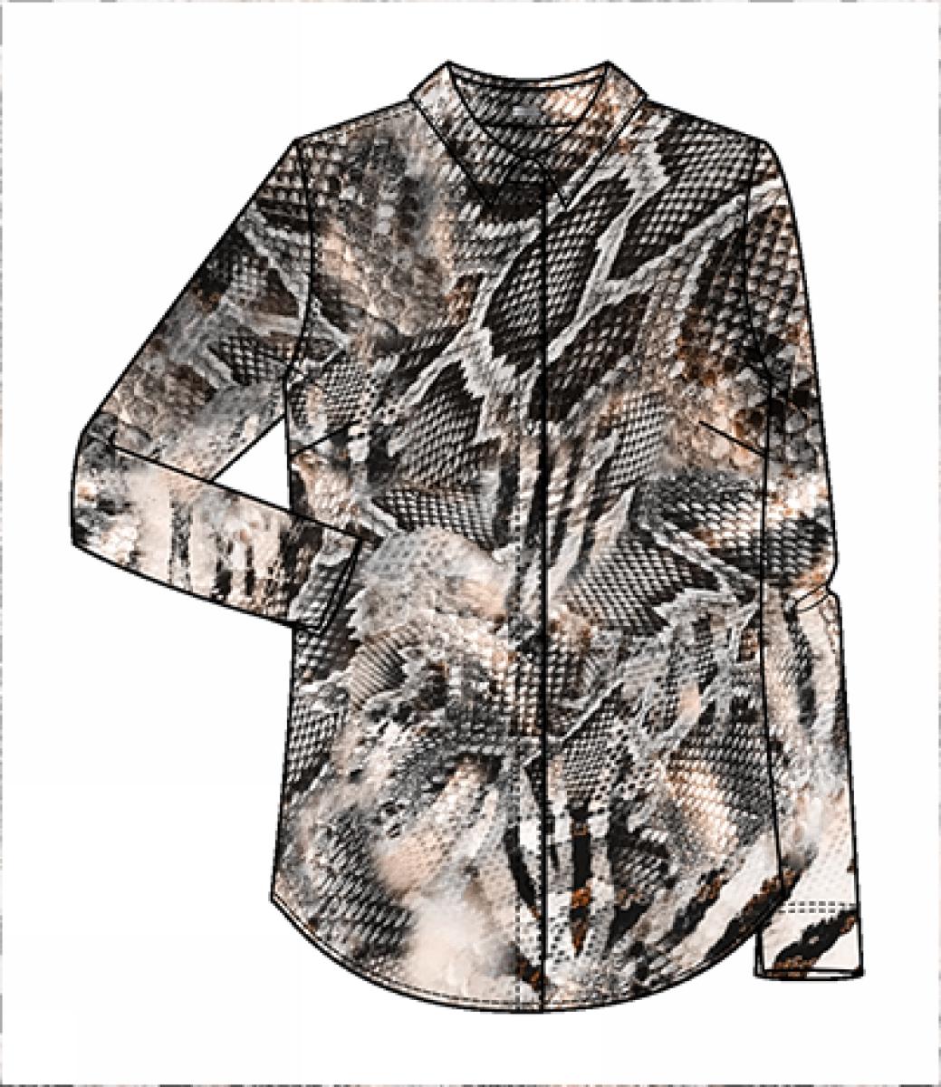 Gustav Printed jersey shirt