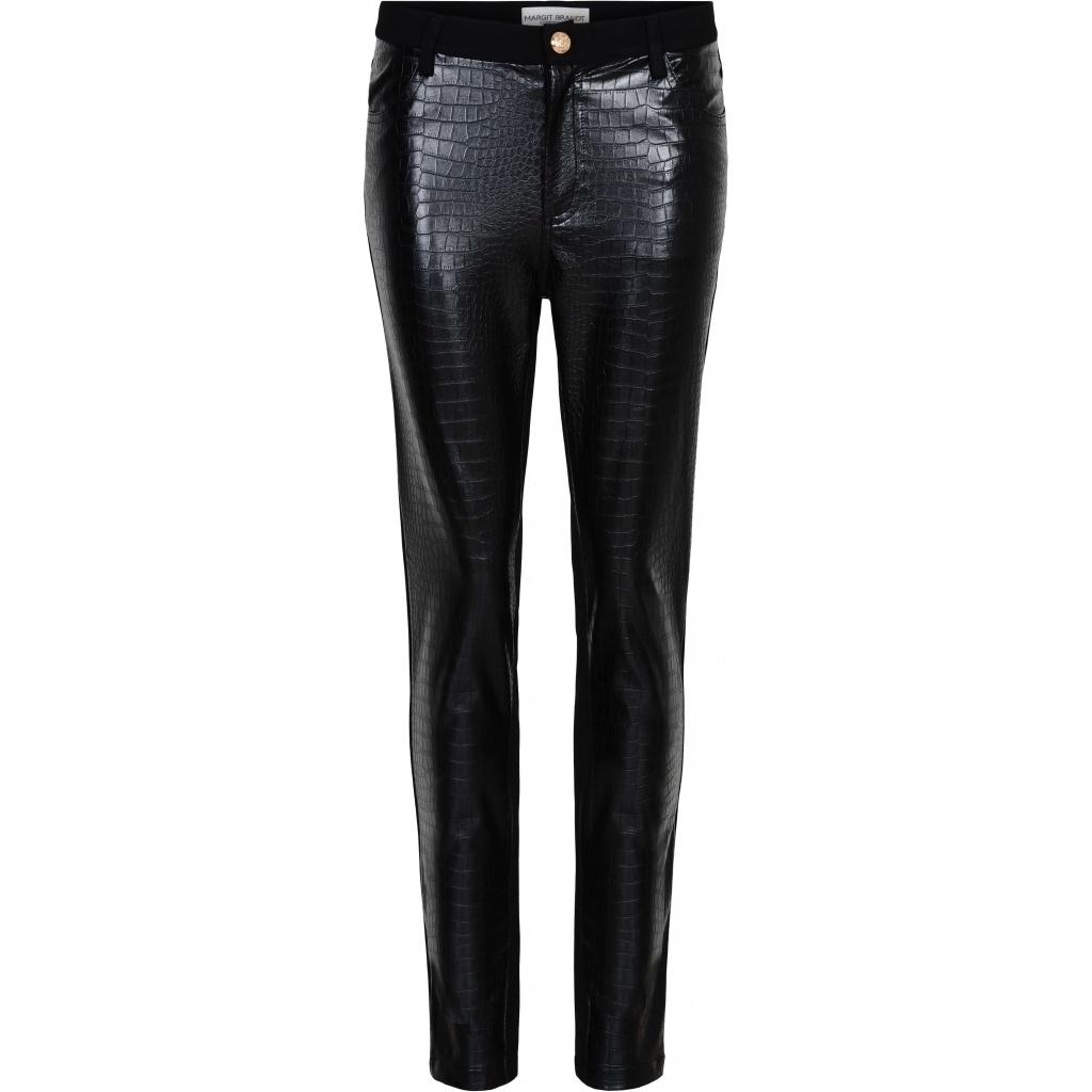 Margit brandt Croco PU leather bukse