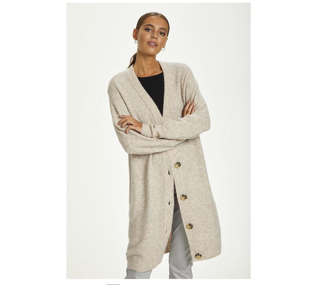 CRAngha Knit Long Cardigan