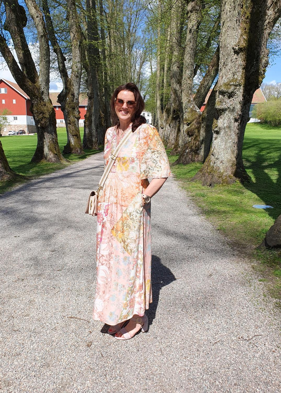 Gustav Hali long dress