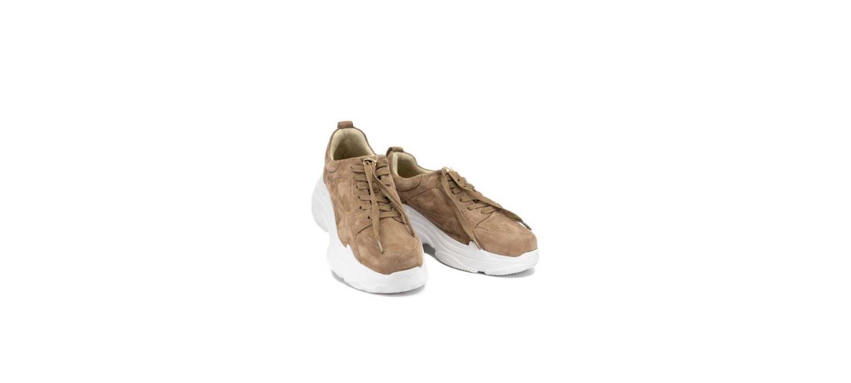 Bibba taupe chunky sneakers