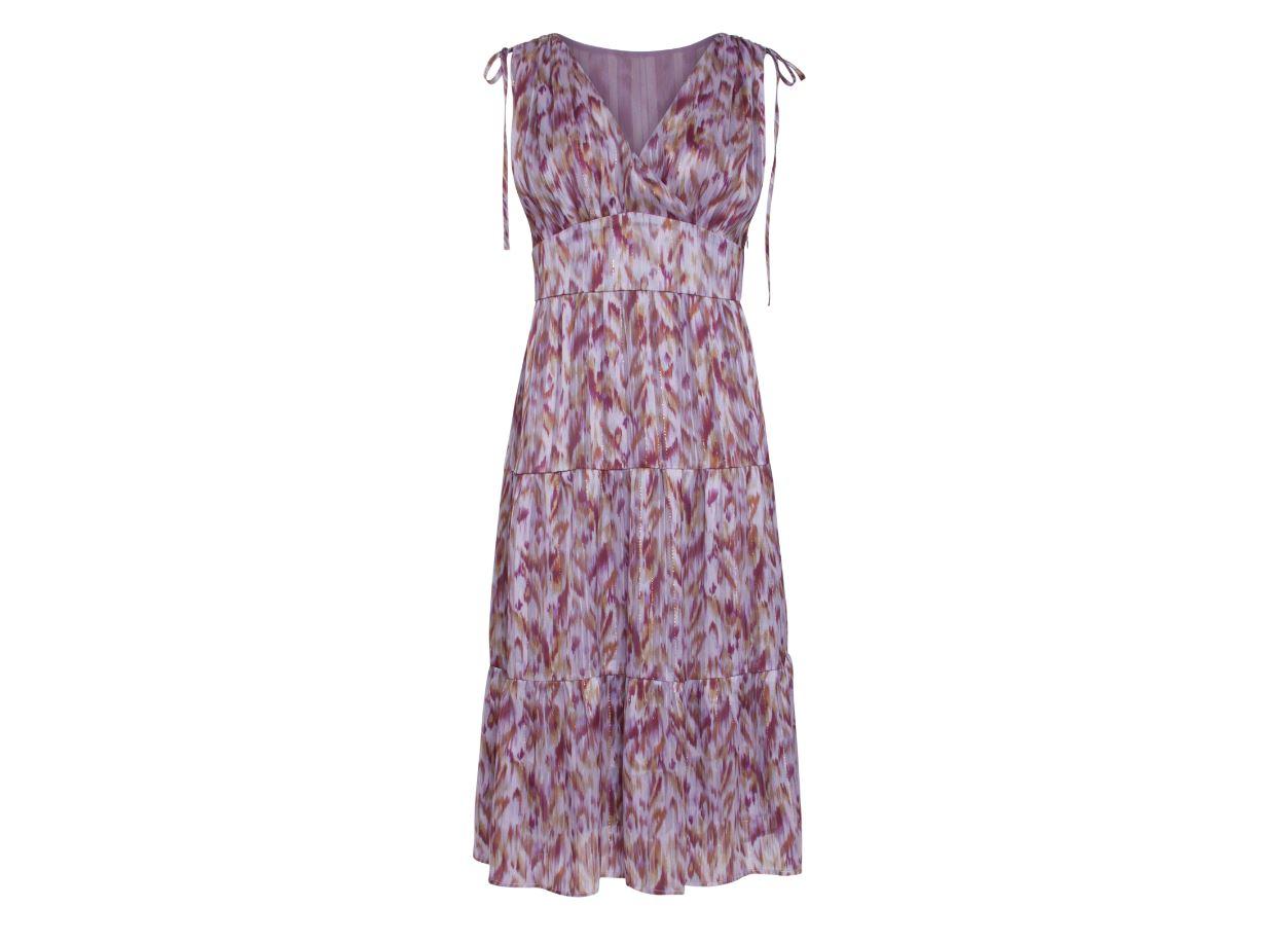 Smashed-Lemon kjole lilla