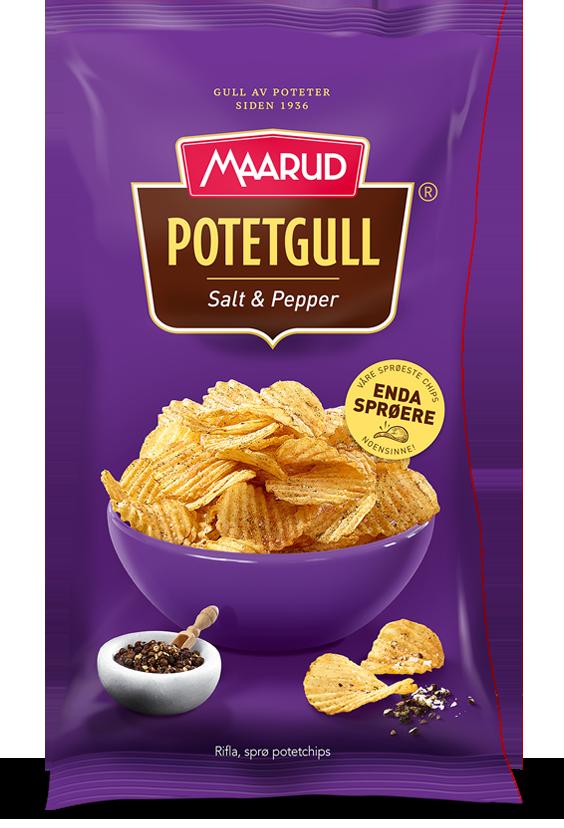 Maarud Salt og Pepper Potetgull