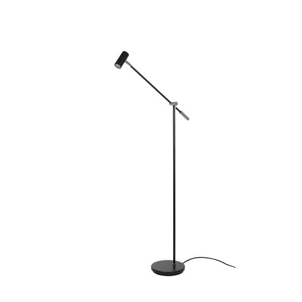 Belid Cato Gulv LED Dimbar - Matt svart