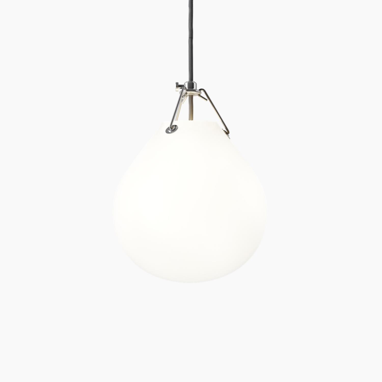 Louis Poulsen Moser - Matt Hvitt Opalt Glass Ø205mm