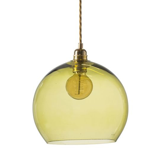 Ebb&Flow Rowan Pendel Ø28cm - Farget glass