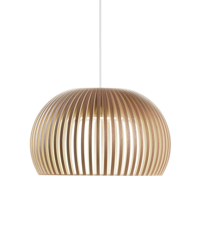 Secto Design Atto Pendel LED Dimbar Valnøtt - Atto 5000