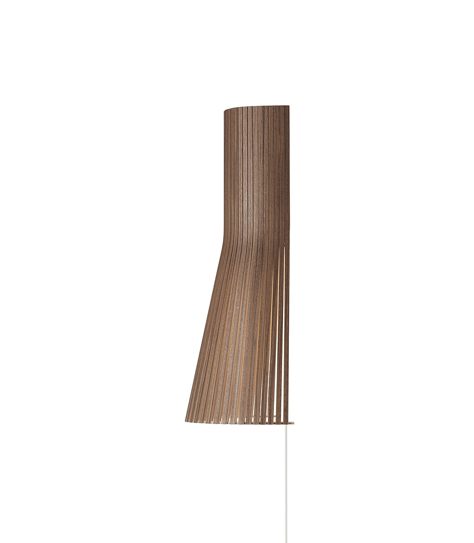 Secto Design Secto Vegg 45cm Valnøtt - Secto 4231