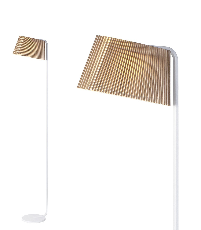 Secto Design Owalo Gulv Valnøtt - Owalo 7010