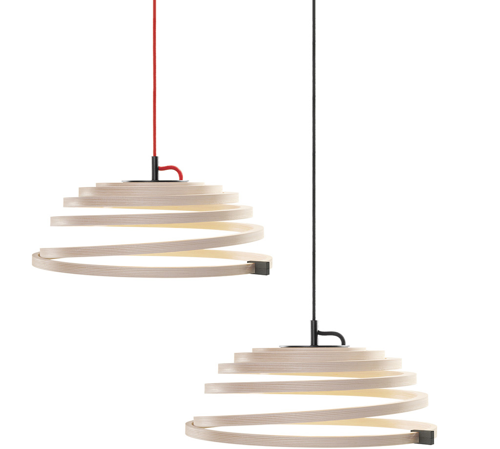 Secto Design Aspiro Pendel Bjørk Dimbar - Aspiro 8000