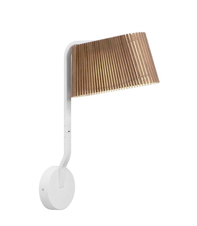 Secto Design Owalo Vegg LED Valnøtt - Owalo 7030