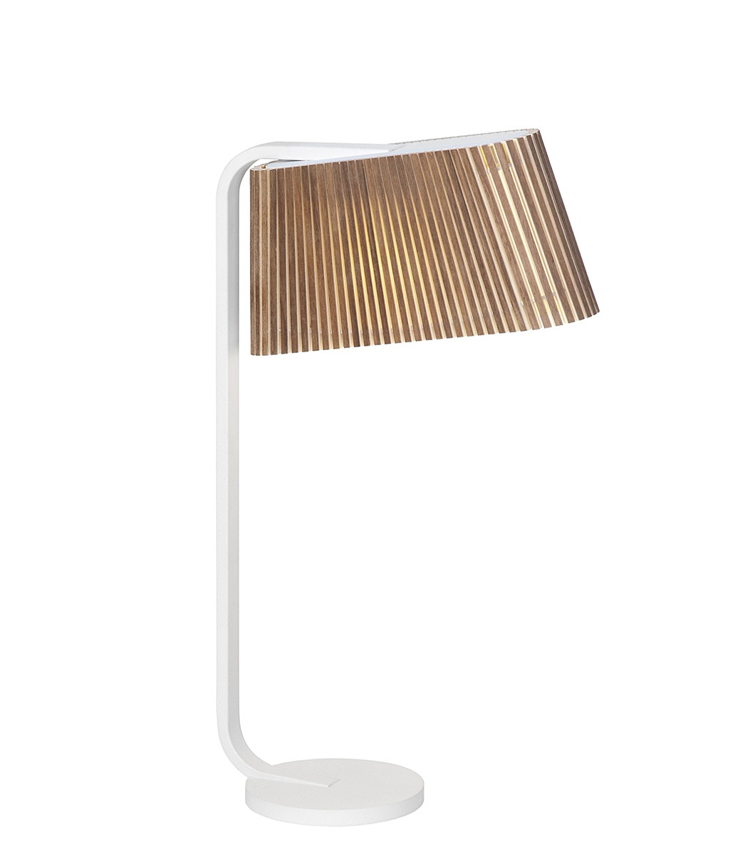 Secto Design Owalo Bord LED Valnøtt - Owalo 7020