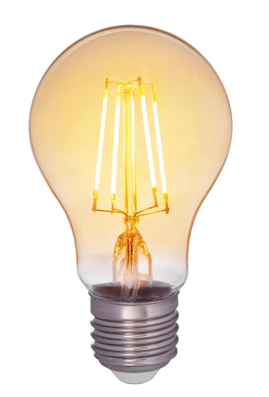 Airam LED E27 - 380lm amber