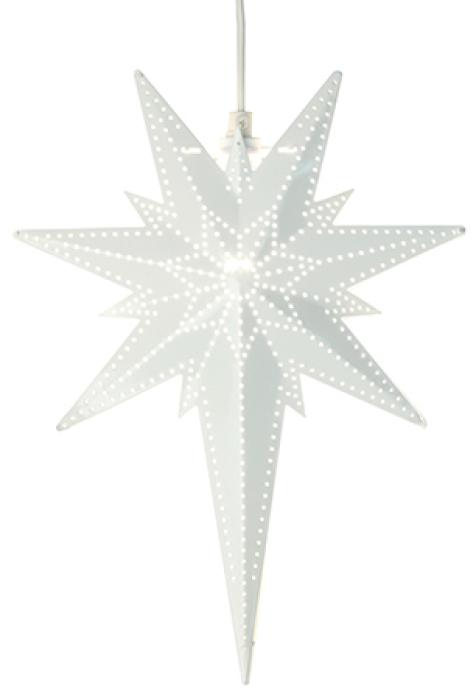 Star Trading Betlehem julestjerne - Hvit