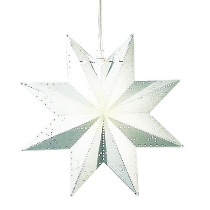 Star Trading Classic julestjerne - Hvit