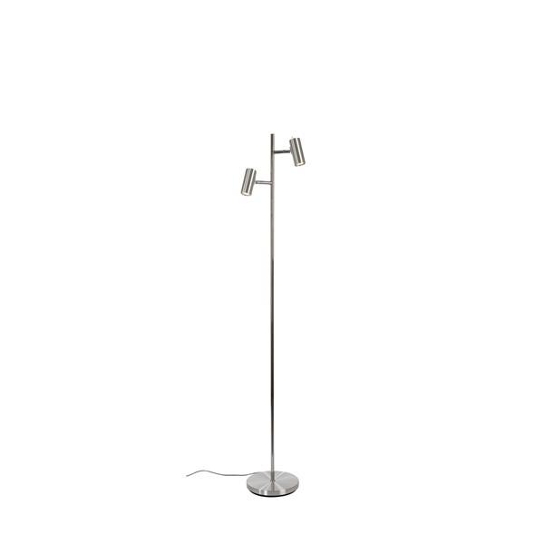 Belid Cato Gulv Dobbel LED - Aluminium
