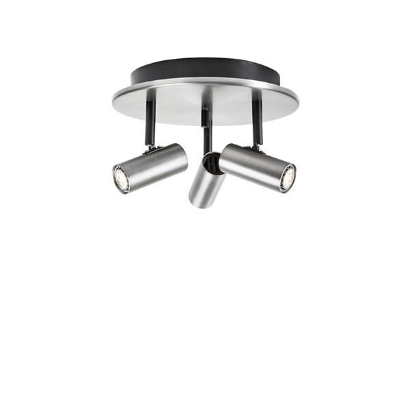 Belid Cato Triospott Rund LED 3x3W Dimbar - Oxidgrå