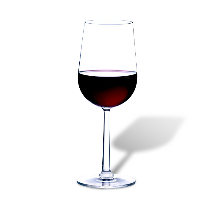Husets Rødvin Glass