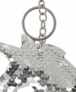 Sequin Nøkkelring Sølv