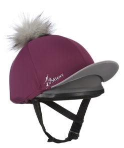 LeMieux Pom Pom Hat Plum