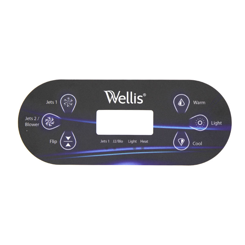 Display Deksel - TP600 Wellis
