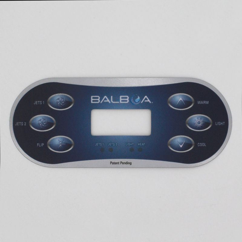 Display Deksel TP600 Balboa