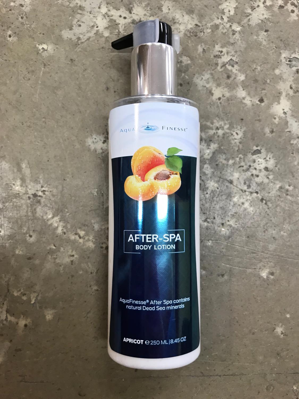 Aquafinesse After Spa body lotion, Aprikos