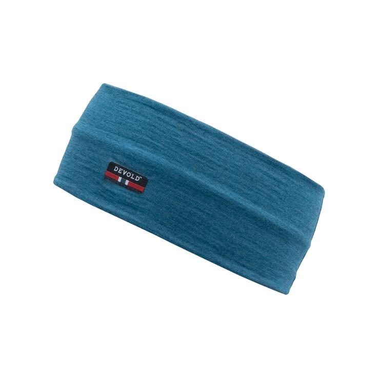 Devold Breeze headband blue