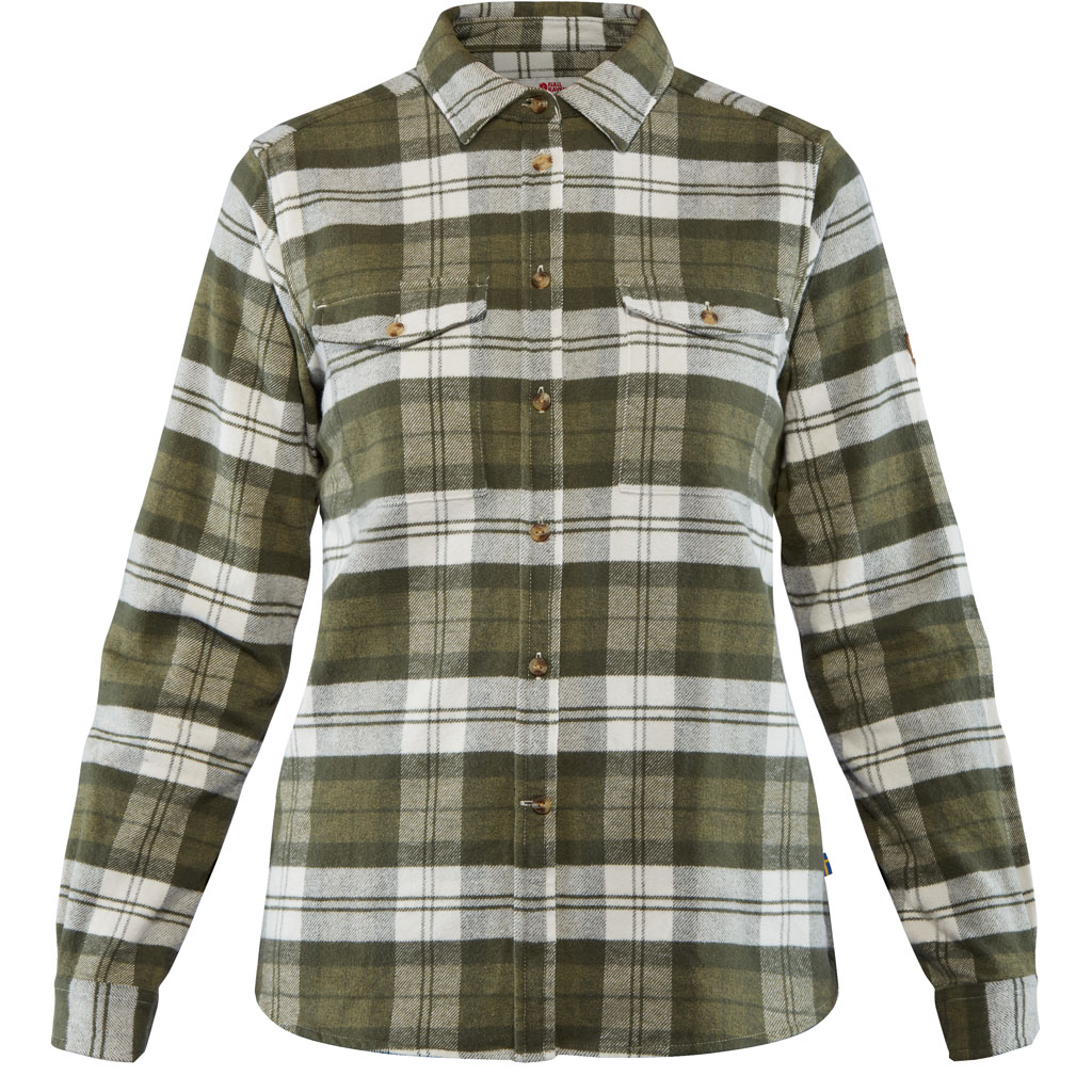 Øvik heavy flanell shirt W