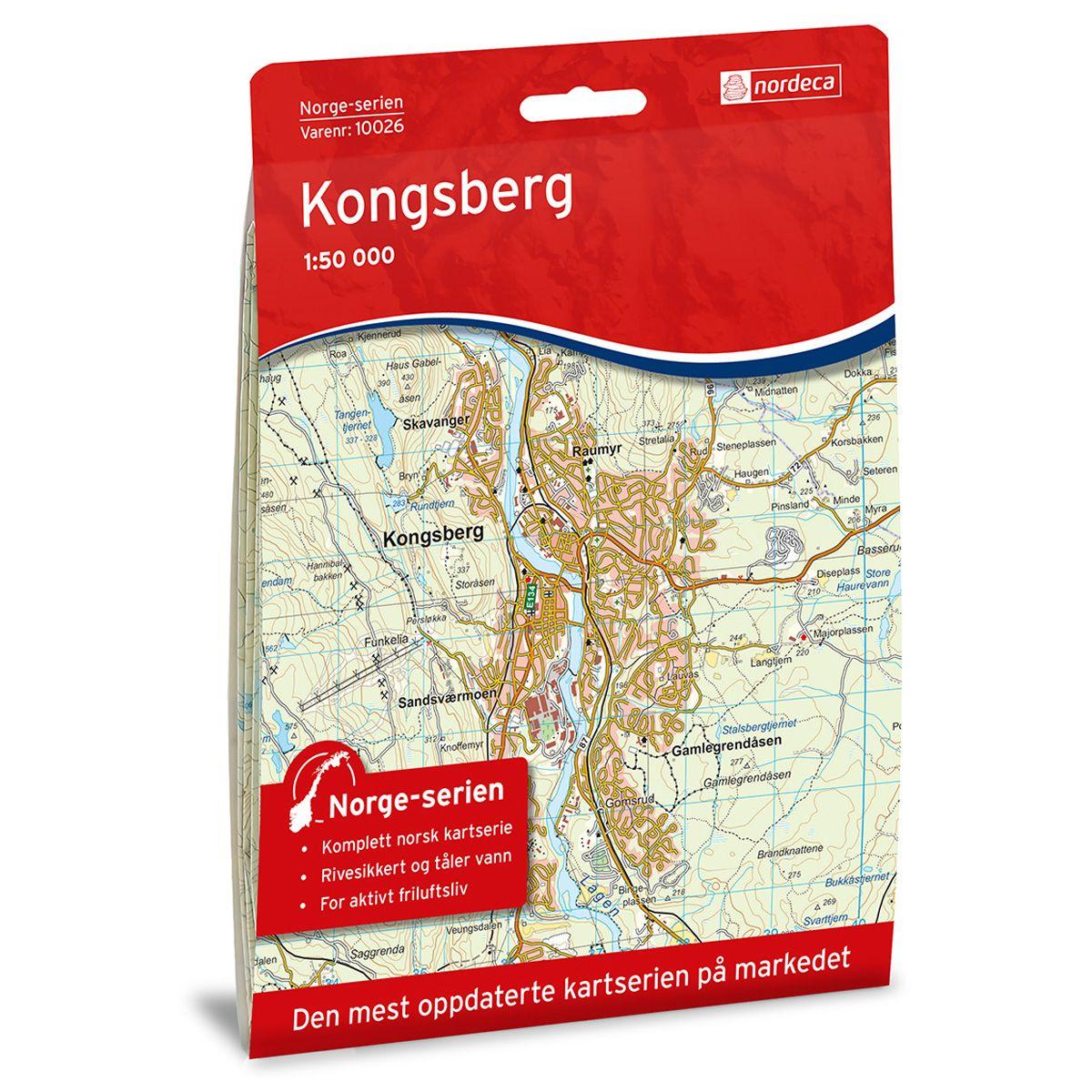 Kongsberg turkart